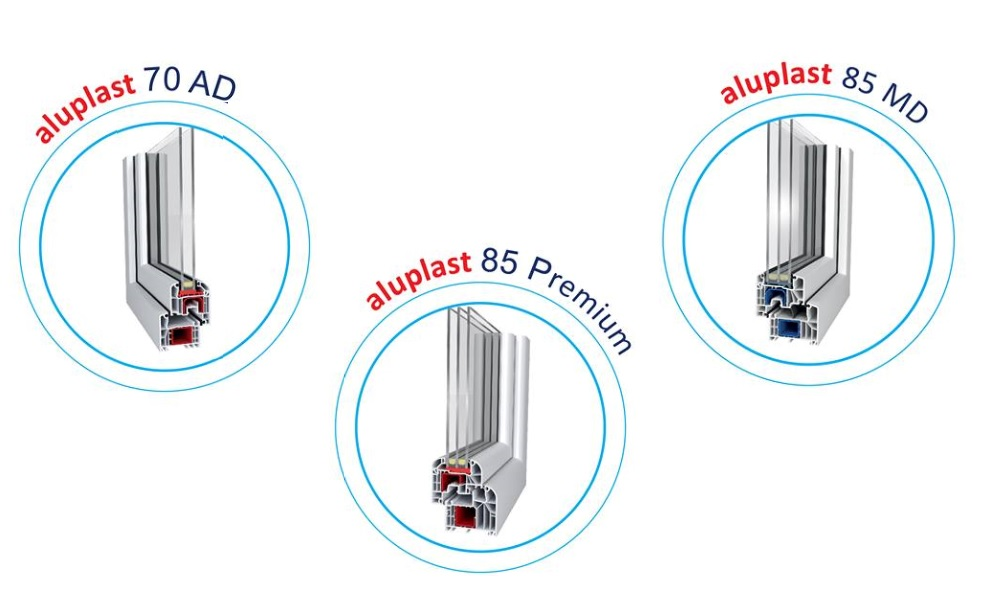 ALUPLAST profile windows